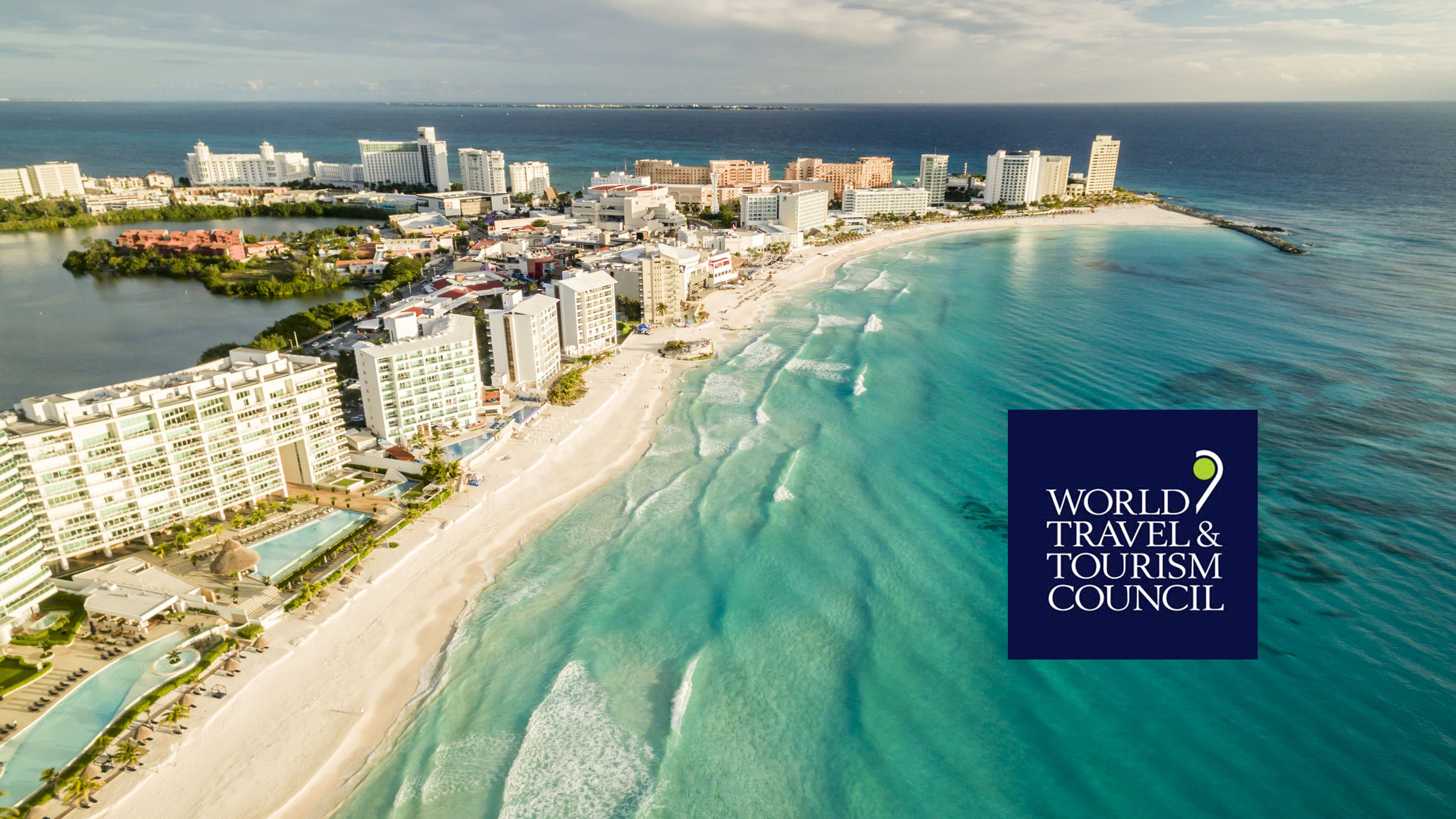 Cancun and WTTC logo