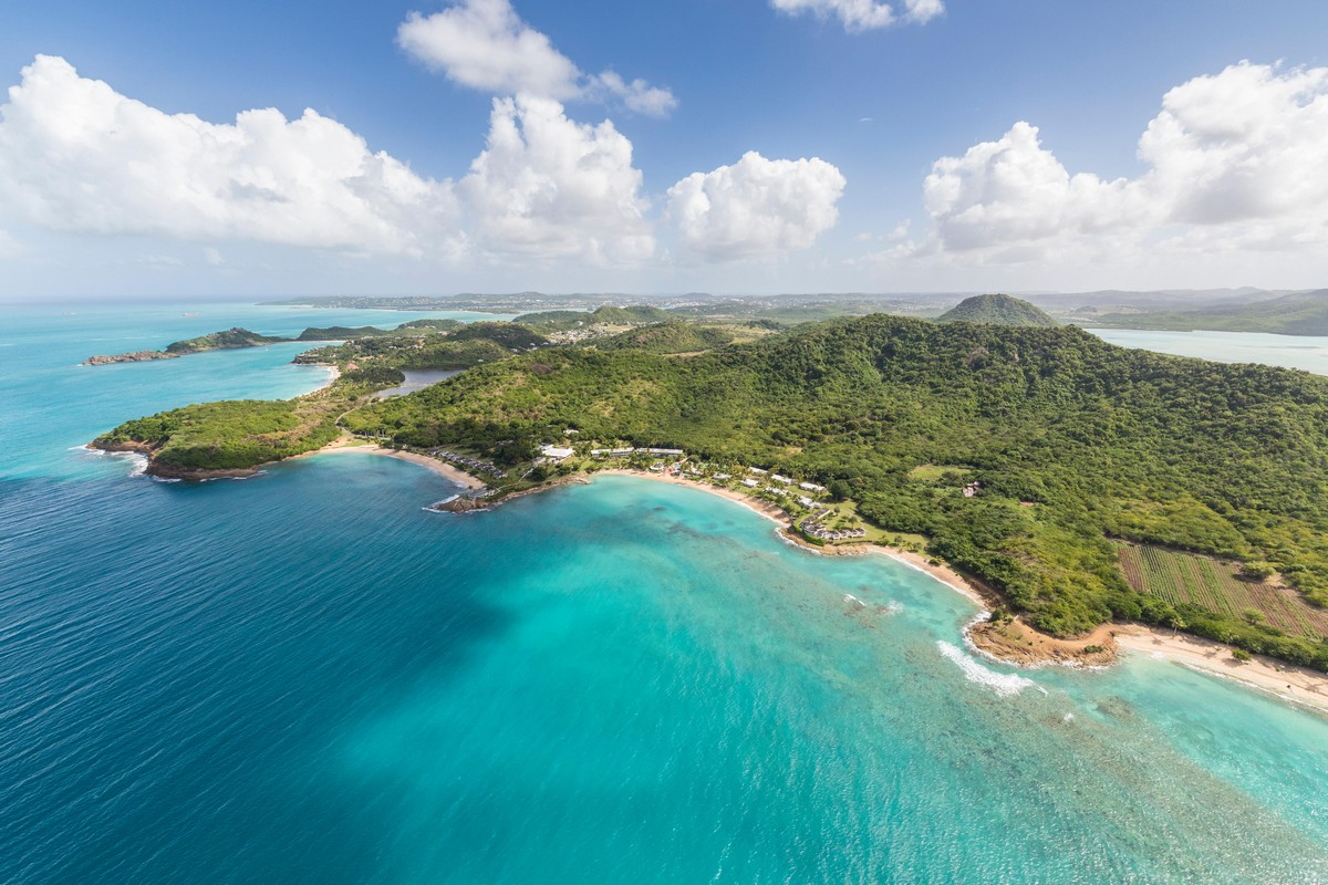 Antigua from the air