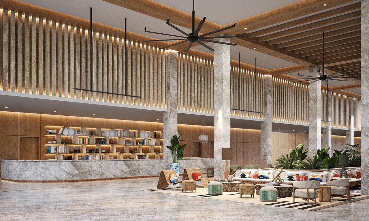 Serenade Punta Cana Beach, Spa & Casino lobby