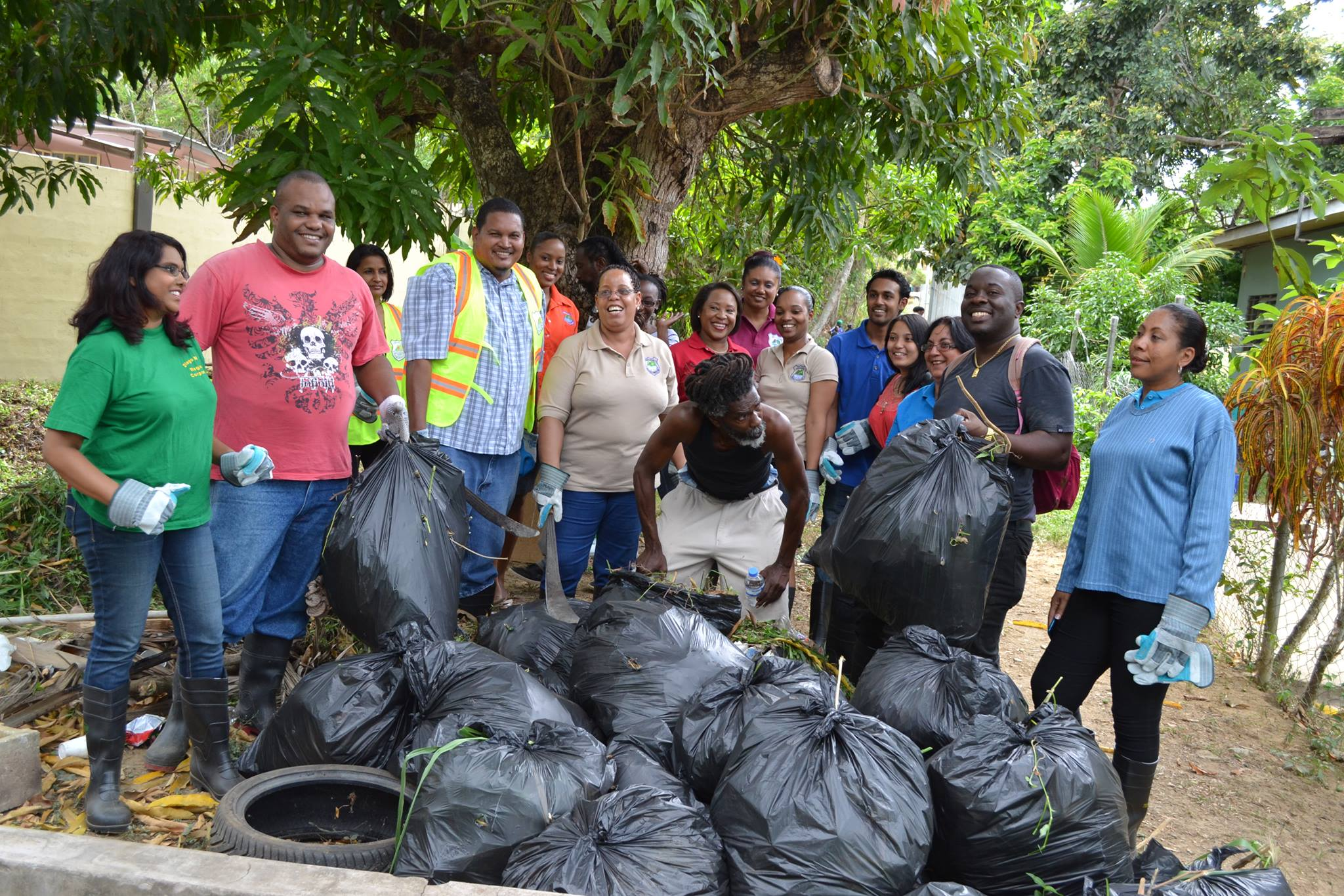 Trinidad & Tobago Cleans Up Tons of Garbage from the Coast