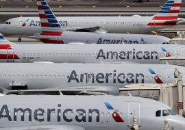 American Airlines planes on tarmac