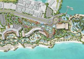rendering of Holistica Project in the Bahamas
