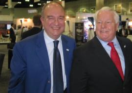 Massimo Loquenzi and Roger Dow