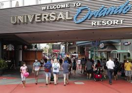 entrance of Universal Orlano