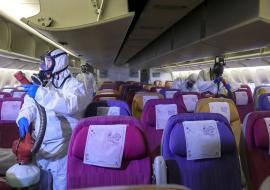 protection inside an aircraft