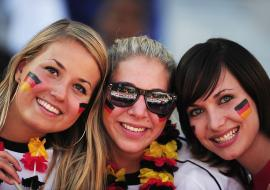 three German tourists