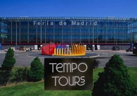 IFEMA and the Tempo Tours logo in the bottom