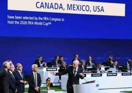 The U.S., Canada and Mexico to Host 2026 World Cup