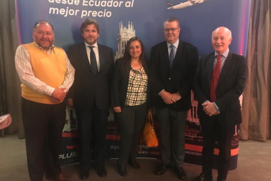 Plus Ultra Starts Madrid-Quito-Guayaquil Connection