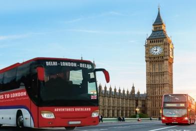 bus to London